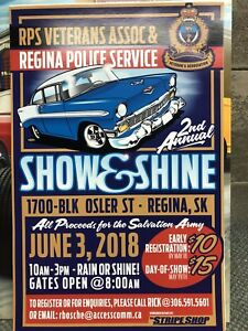 RPS Vets Show and Shine Car Show June 3, 2018