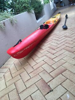 REDUCED TO SELL QUICKLY! Spirit 5m surf ski (plastic)