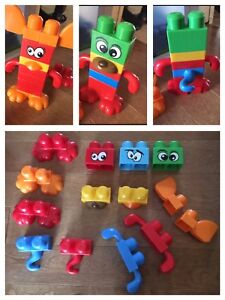 Mega Bloks little critters set