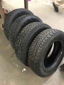 195 65 15 studded winter tires Good Year Ultra Grip
