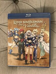 Lord Marksman and Vanadis - complete anime series bluray/dvd