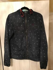 Penguin spring/rain jacket with a hoody-Size Small