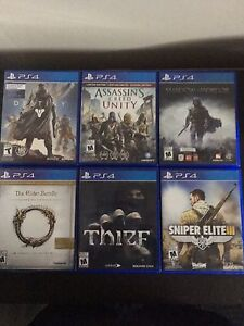 PS4 games for sale $20 each