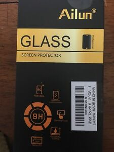 iPod 6 tempered glass screen protector