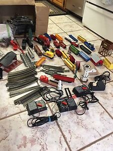 Hobbyist train and accessories