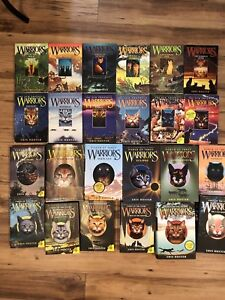 Warriors Books by Erin Hunter *Price Reduced*