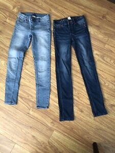 2 pairs of size 12 justice jeans