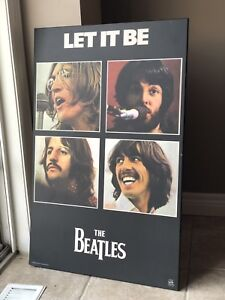 Beatles Let It Be Wall Art  33.5 inches x 21 1/4 inches