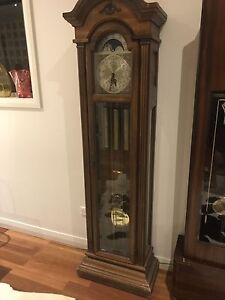 Pearl Grandfather Clock Caringbah Sutherland Area Preview