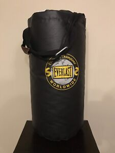Everlast leather punching bag 25lbs