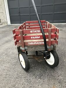 Vintage red waggon good condition