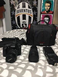 GREAT CONDITION CANON 80D COMES WITH TWO LENSES AND KIT PACKAGE