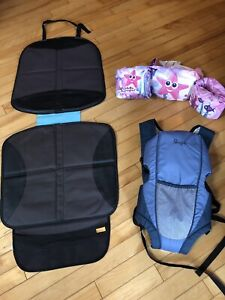 Car seat protectors & Baby carrier