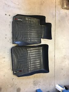 BMW 335i Weathertech mats and front lip