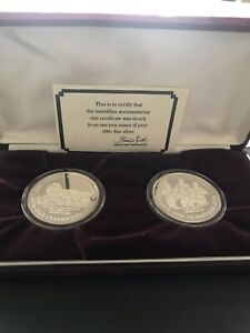 1992 official Olympic medaillons/jeux olympiques médaillons