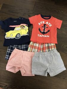 Carters boy summer outfit 3m