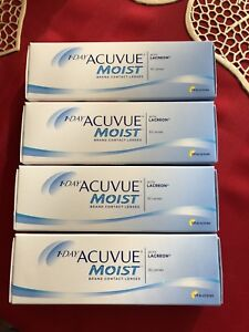 Dailies Contact Lenses - Acuvue Moist (-1.00 and -1.25)