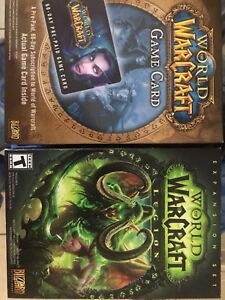 World of Warcraft Legion and 60 day game card