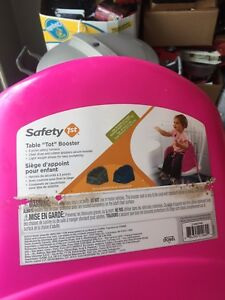 Booster seat for kitchen table