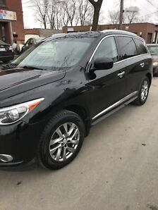 Infiniti JX35 2013 fully loaded  AWD +navigation +cuir