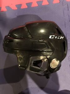 CCM V10 Hockey Helmet. Sr. Small & size Medium cage