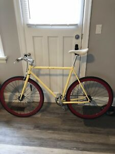 Pure Fix single speed road bicycle