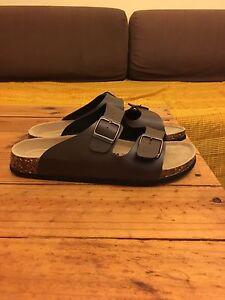 Caffbelem sandals ( Birkenstock look ) brown Summer Hill Ashfield Area Preview