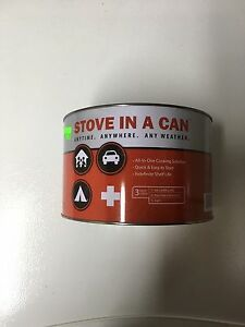Portable Stove-in-a-can