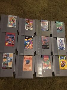 Nintendo NES Games 8 bit  looking for trades