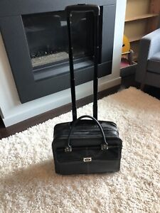 Carry on luggage, rolling briefcase