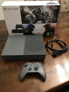 Xbox One S Special Edition Storm Grey