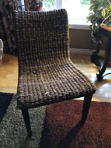 Wicker chair REDUCED