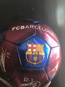 Fc barcelona ball in mint condition