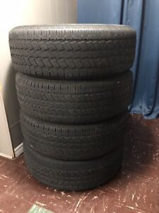 Set of Good Continental Truck Tires 265/70/18