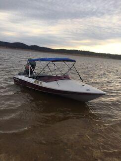 Coral craft ski boat