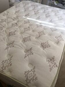 Queen Size Bed + Matress + Bedside Tables Gladesville Ryde Area Preview