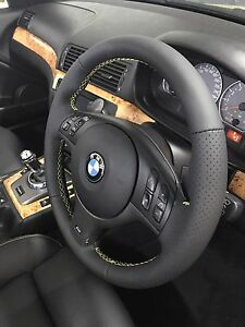 Steering wheel repair, cover, wrapping in leather Alexandria Inner Sydney Preview