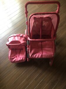 Double Doll stroller with car seat!