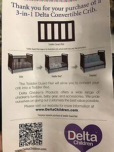 Delta 3 in 1 Crib
