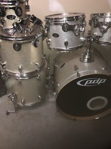 PDP drums by DW