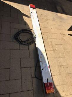 LED trailer light board