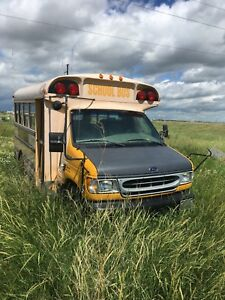 Retired school bus for sale