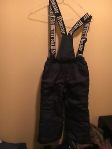 Excellent condition blue snow pants size 4T