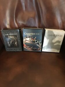 Game of Thrones – Blu-ray – seasons 1 to 3 complete