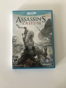 Wii u Assassin's creed 3 brand new sealed