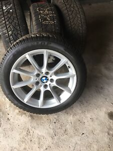 """BMW 18"""" wheels with tires"""