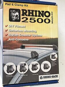 Rhino rack 2500 DK008 pad and clamp kit Rutherford Maitland Area Preview