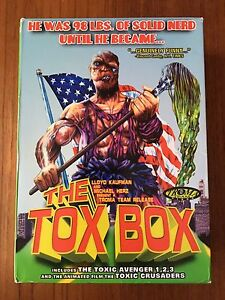The Tox Box (Toxic Avenger) DVD box set
