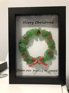 Christmas Sea Glass Pictures
