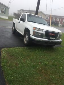 2007 GMC Canyon 4cyl 5 speed
